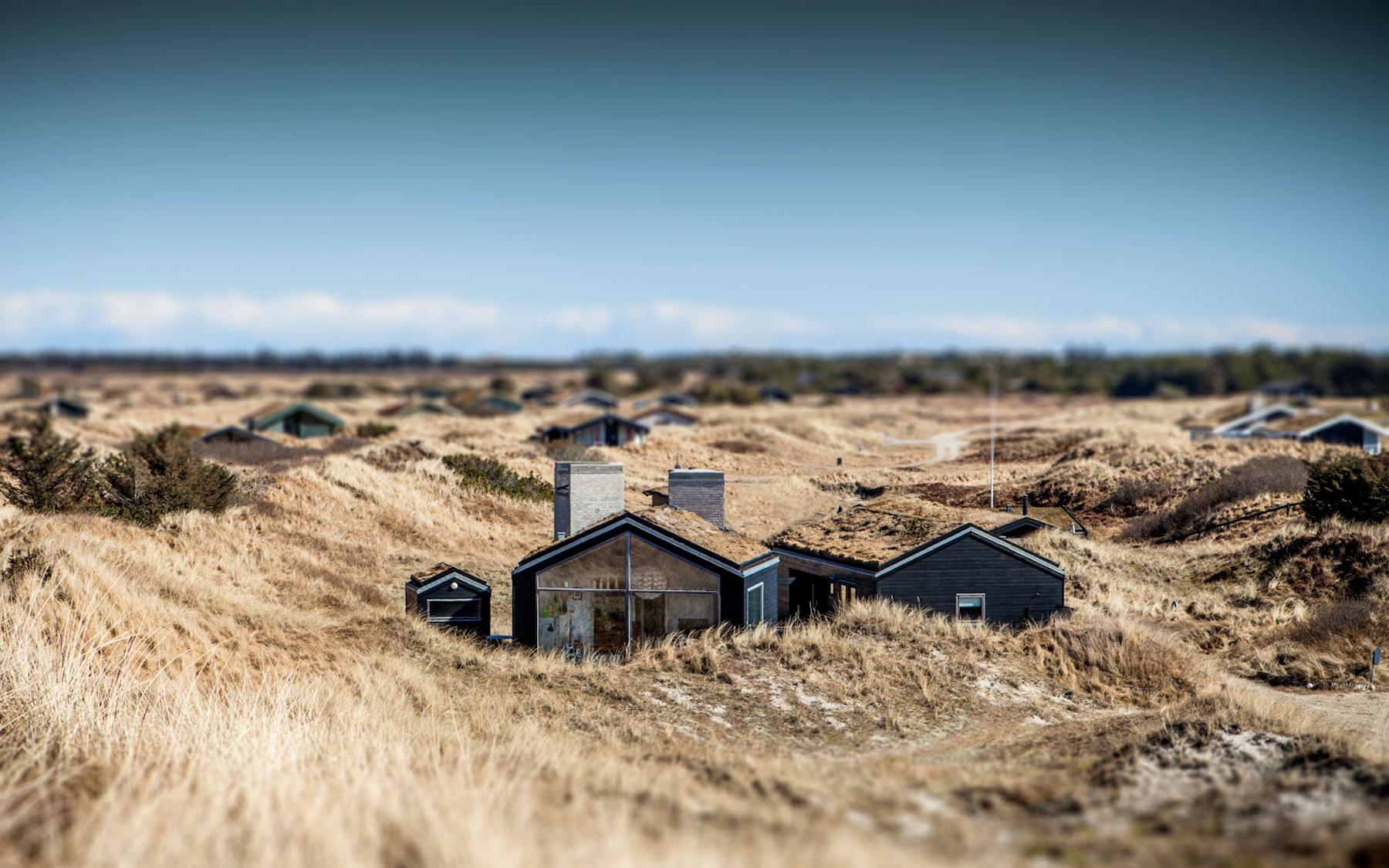 Sommerhus. Landscape architecture by Kassow Arkitekter in Denmark. Image Courtesy of Kassow Arkitekter