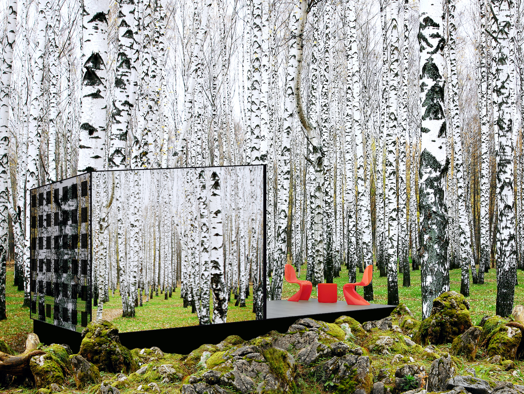 Landscape architecture. Disappear retreat by Carly Coulson