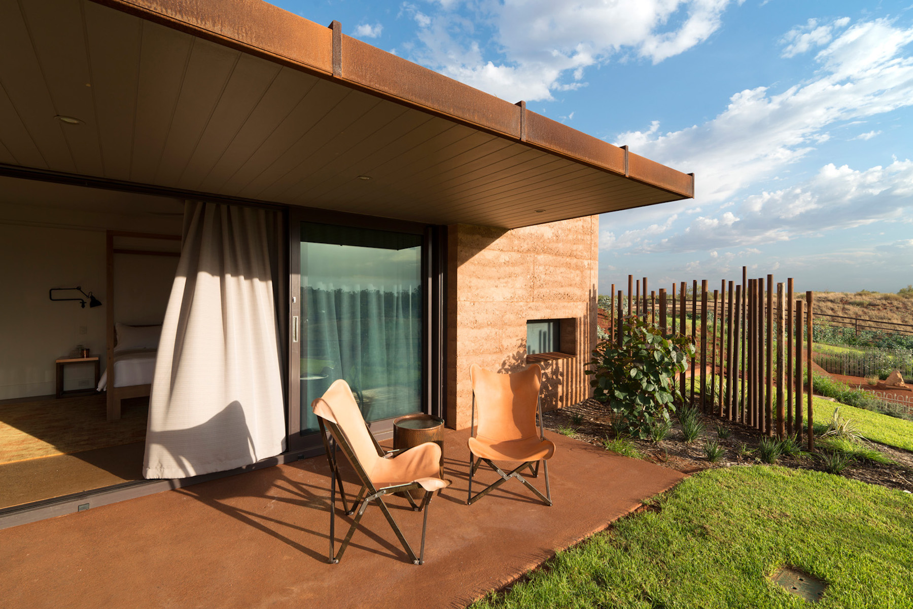 Proyecto de arquitectura del paisaje de Luigi Rosselli Architects