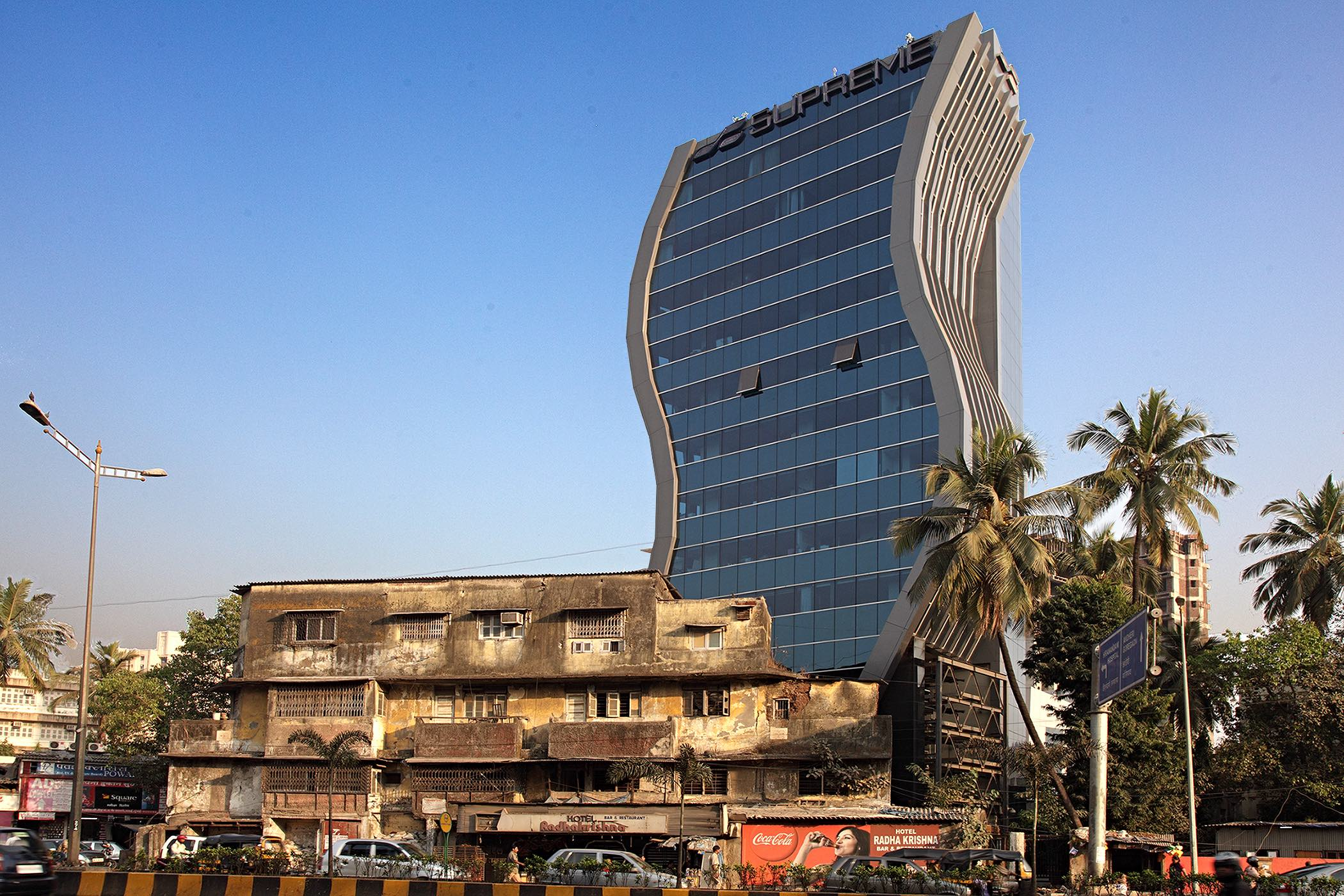 Buildings in Mumbai by Swapan Mukherjee