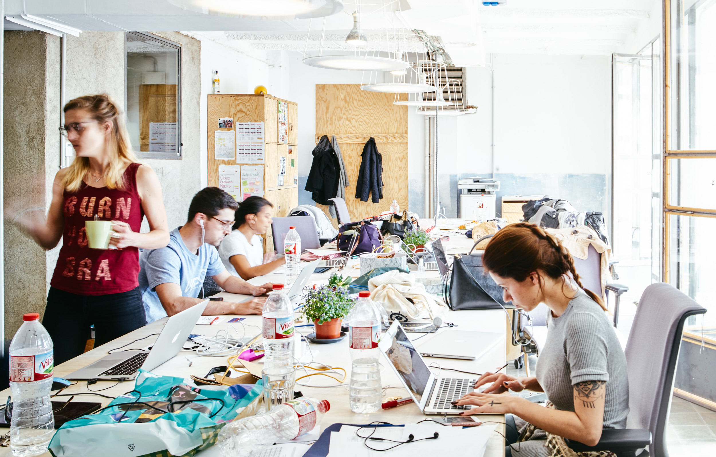 Coworking Betahaus in Barcelona an example of sharing economy