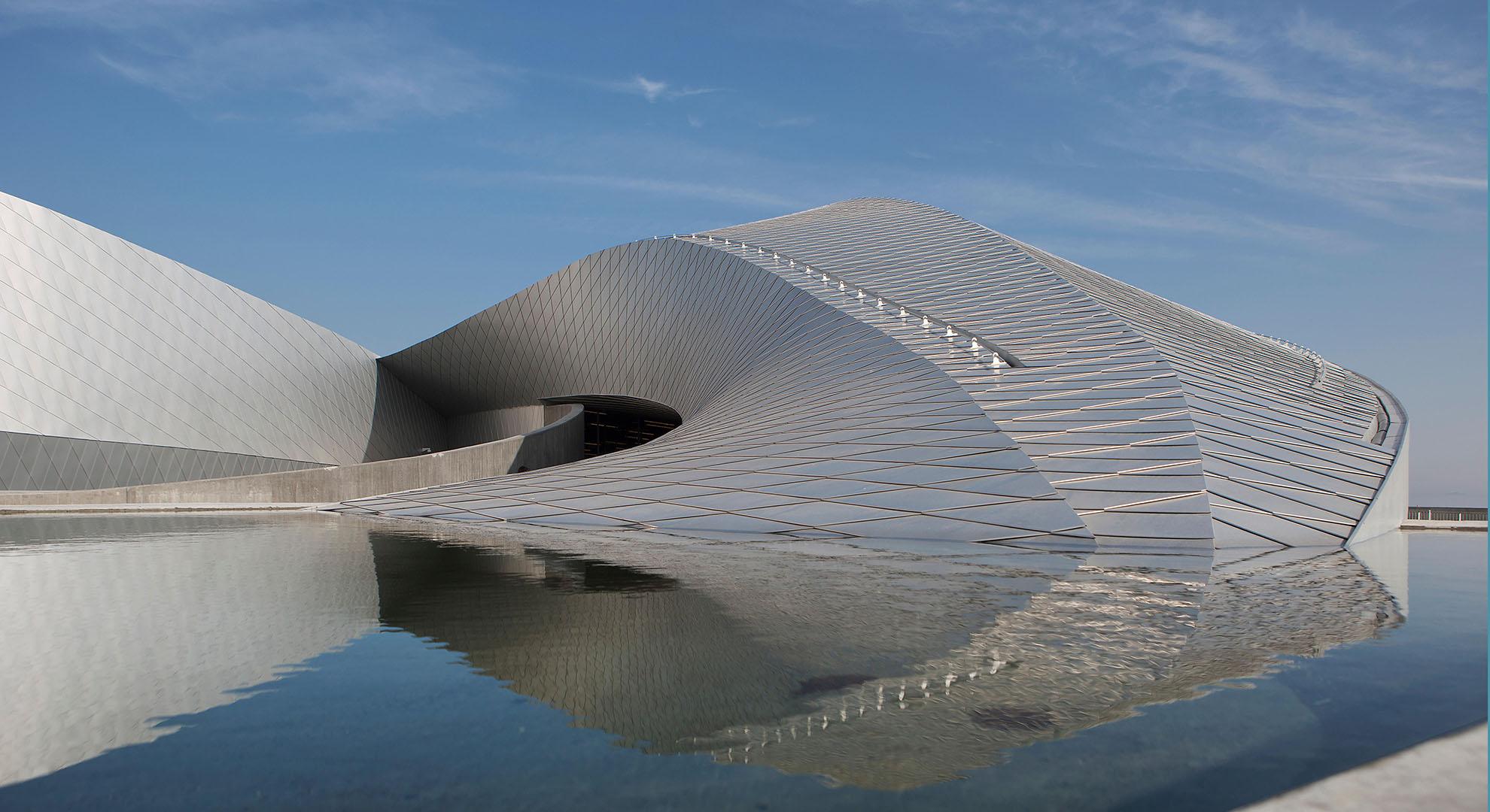 Acuario de Dinamarca. Arquitectura y mar