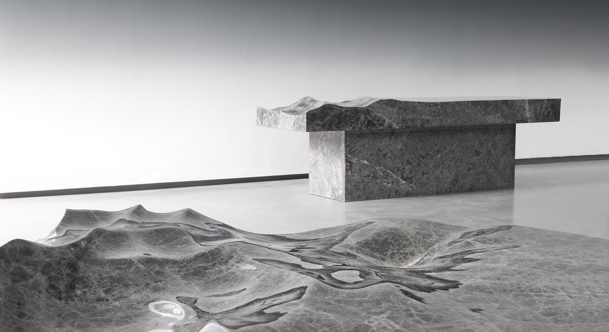Ocean artwork Exhibition: Ocean Memories by Mathieu Lehanneur