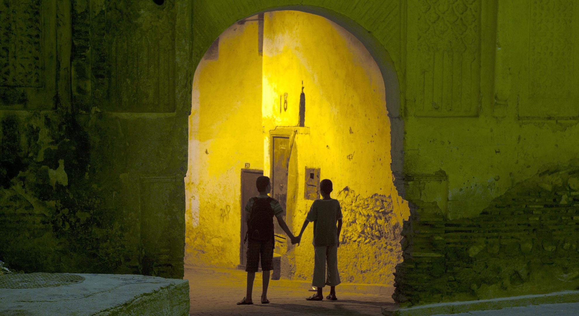 Niños en la Medina de Fez