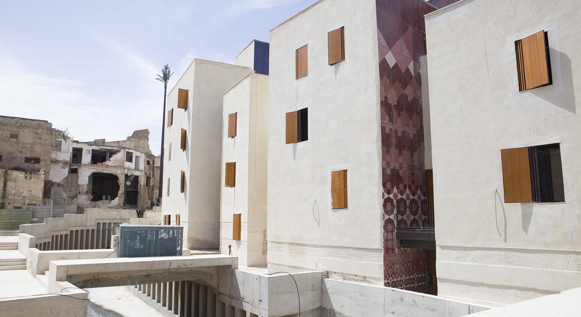 Plaza Lalla Yedounna de la medina de Fez