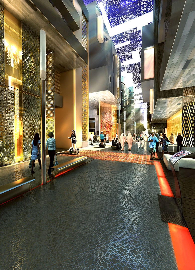 Masdar City. Sustainable architecture by Foster and Partners