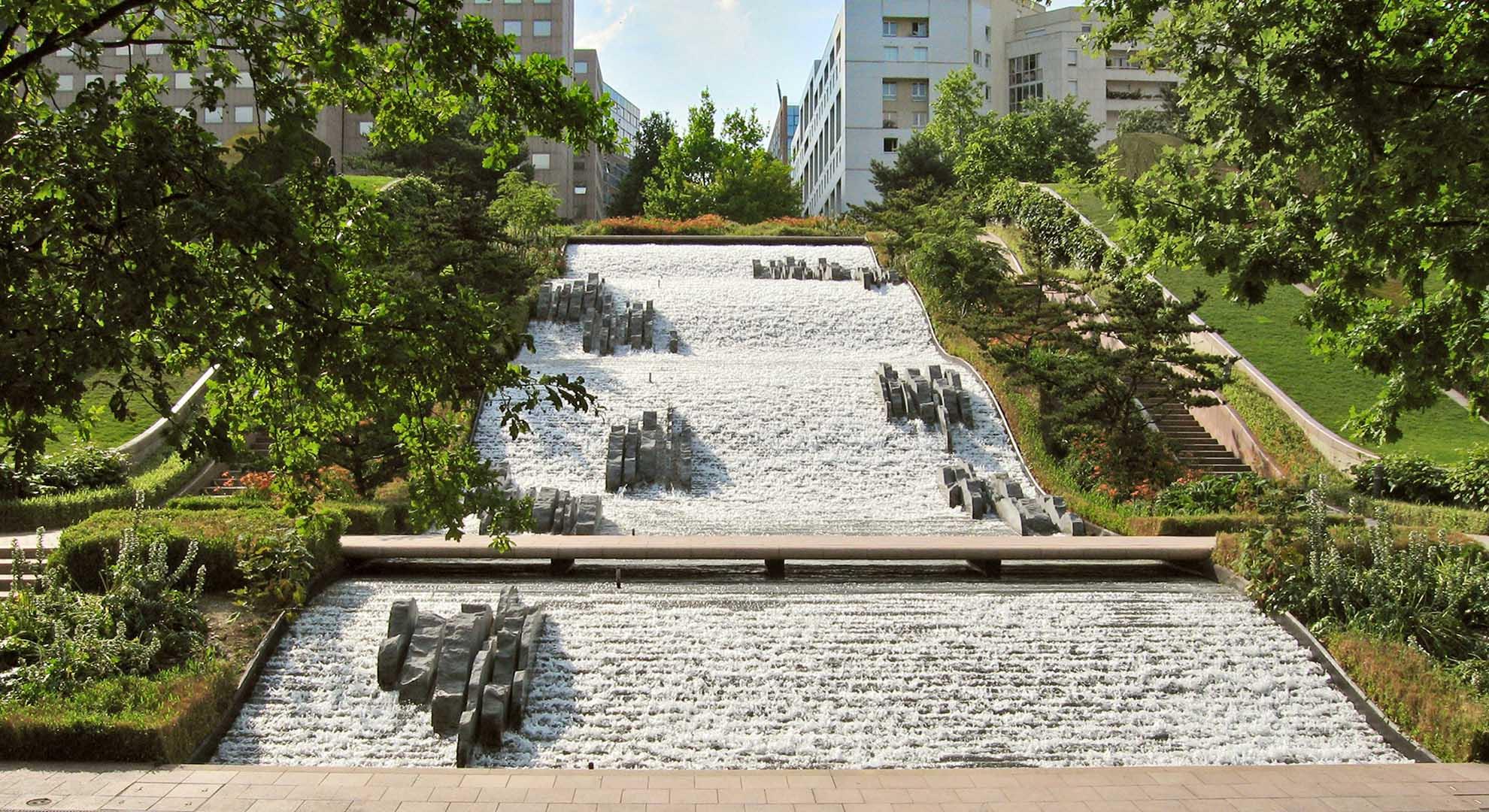 Fuentes ornamentales en París. JML Water Feature Design