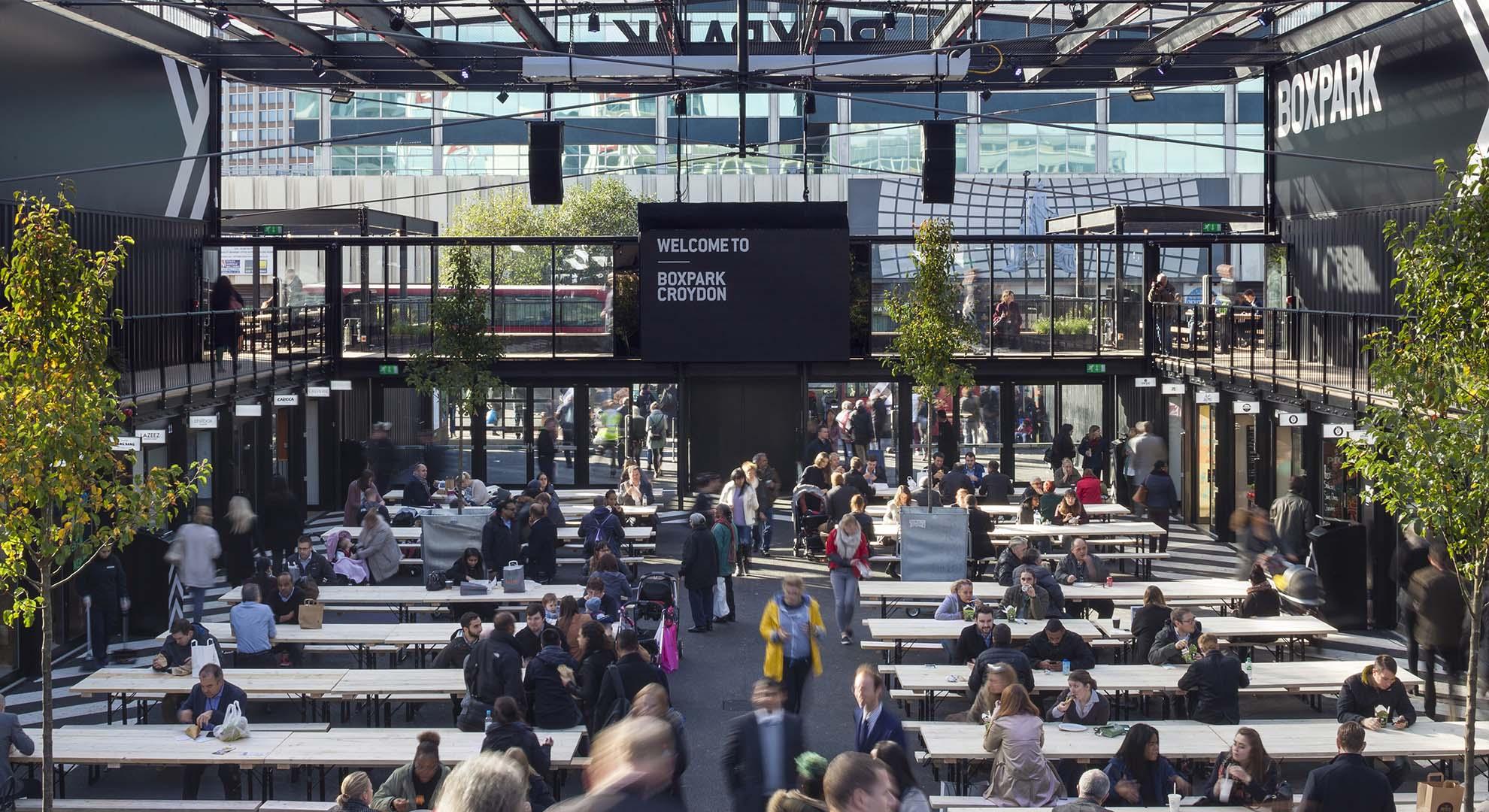 Architects Interpret Urban Architecture In Markets