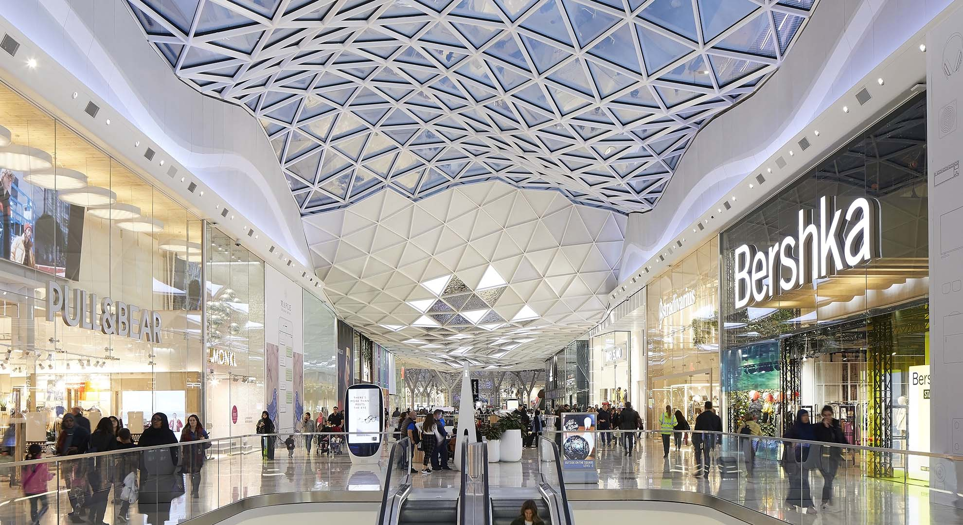 Westfield City is an example of the new retail spaces