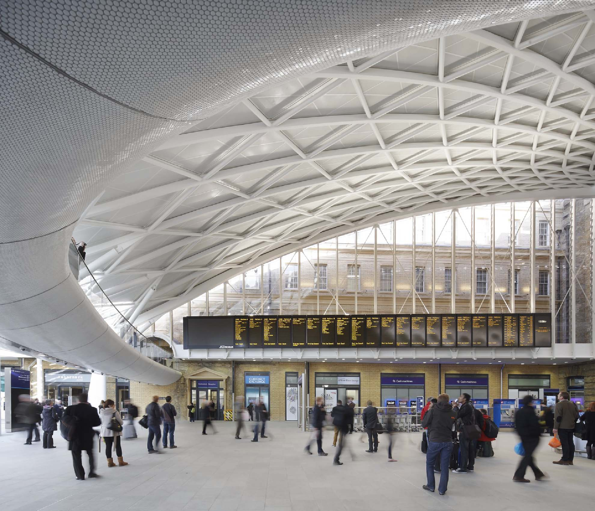 Movilidad y transporte: estación de King's Cross en Londres