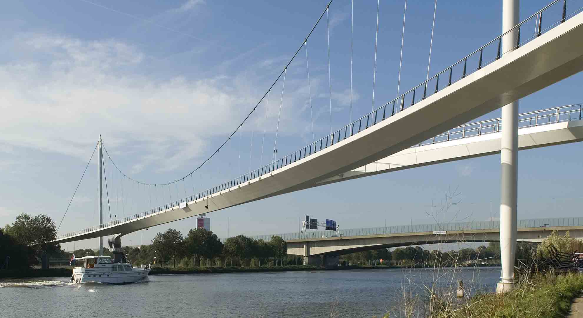 Another example of urban bicycle structure: The Nesciobrug bridge by Wilkinson Eyre Architects in Amsterdam.