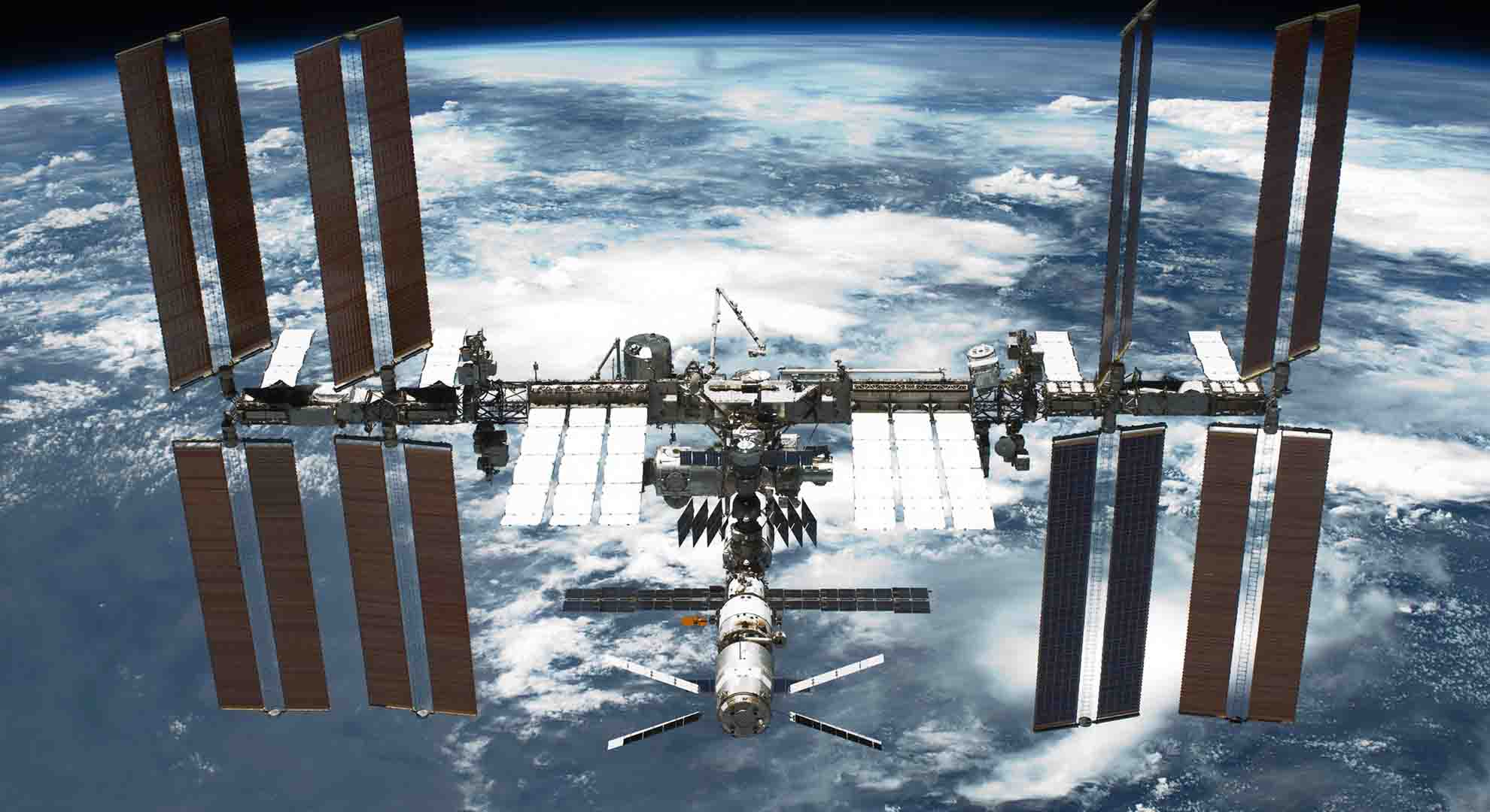 Part of the International Space Station (ISS) have been directed to Point Nemo transformed into space junk