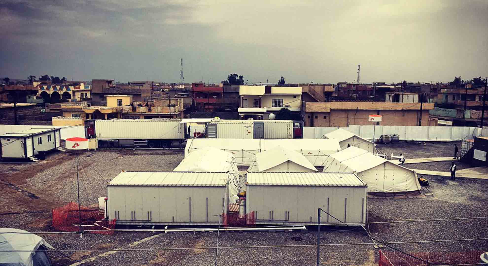 Buildings in a conflict zone are a big challenge for hospital design