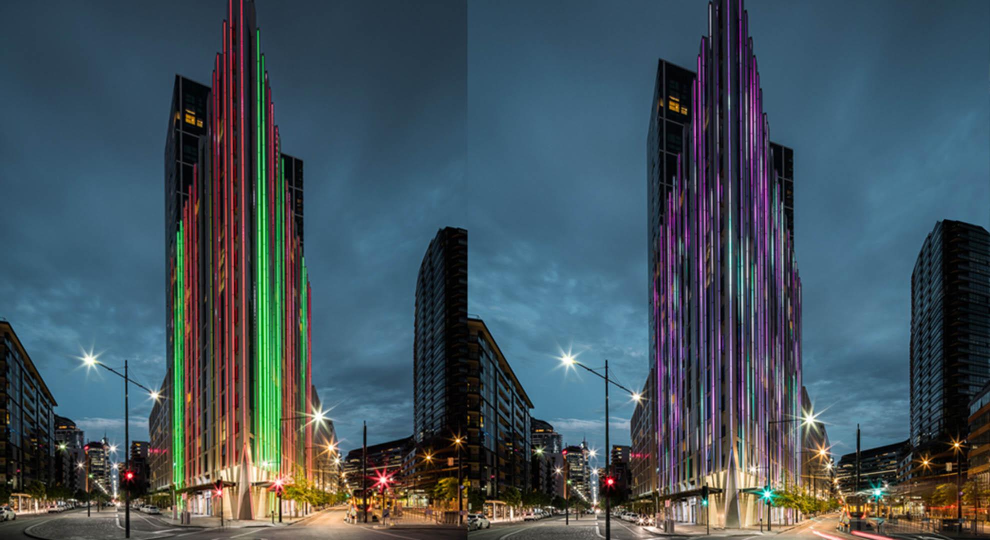 Arquitectura moderna Light House diseñado por Hengyi en Melbourne