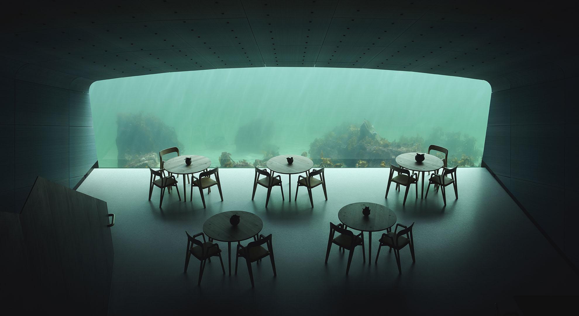 Under, Underwater restaurant by Snøhetta