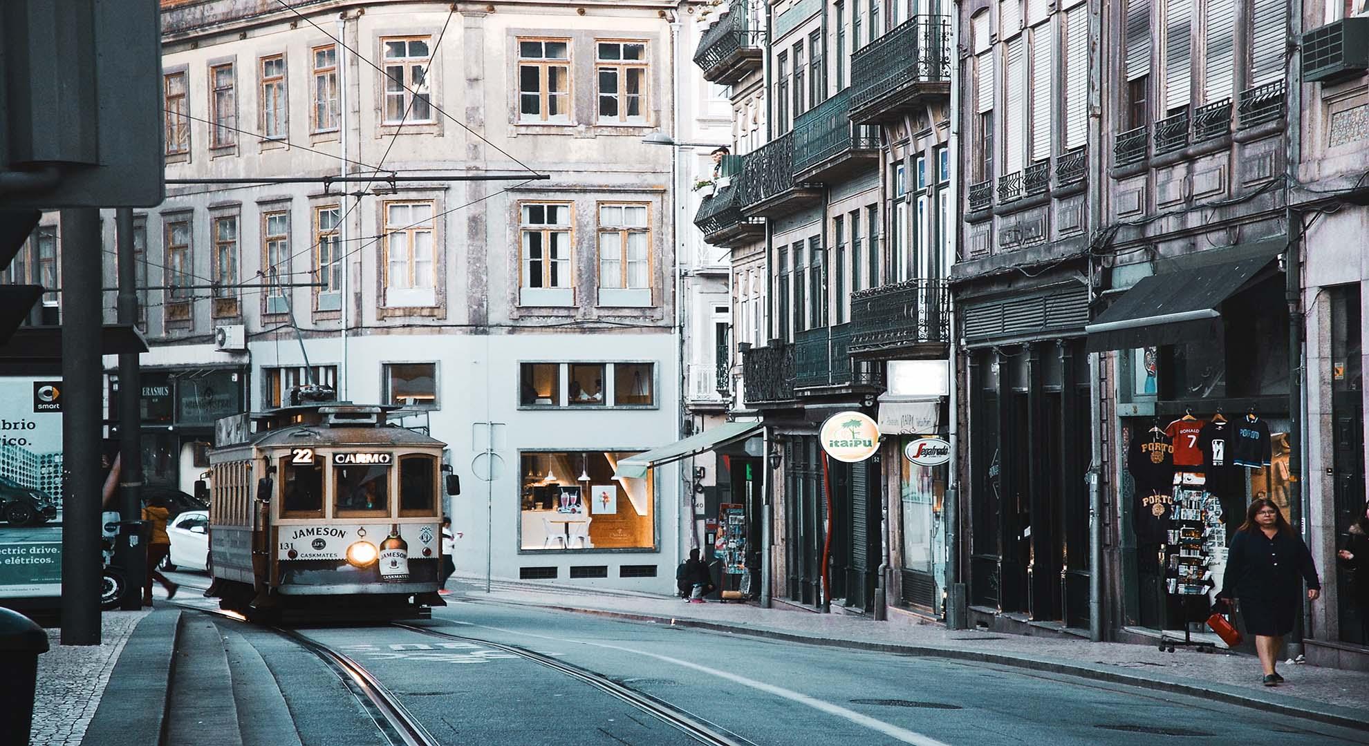 Porto tram, Portugal