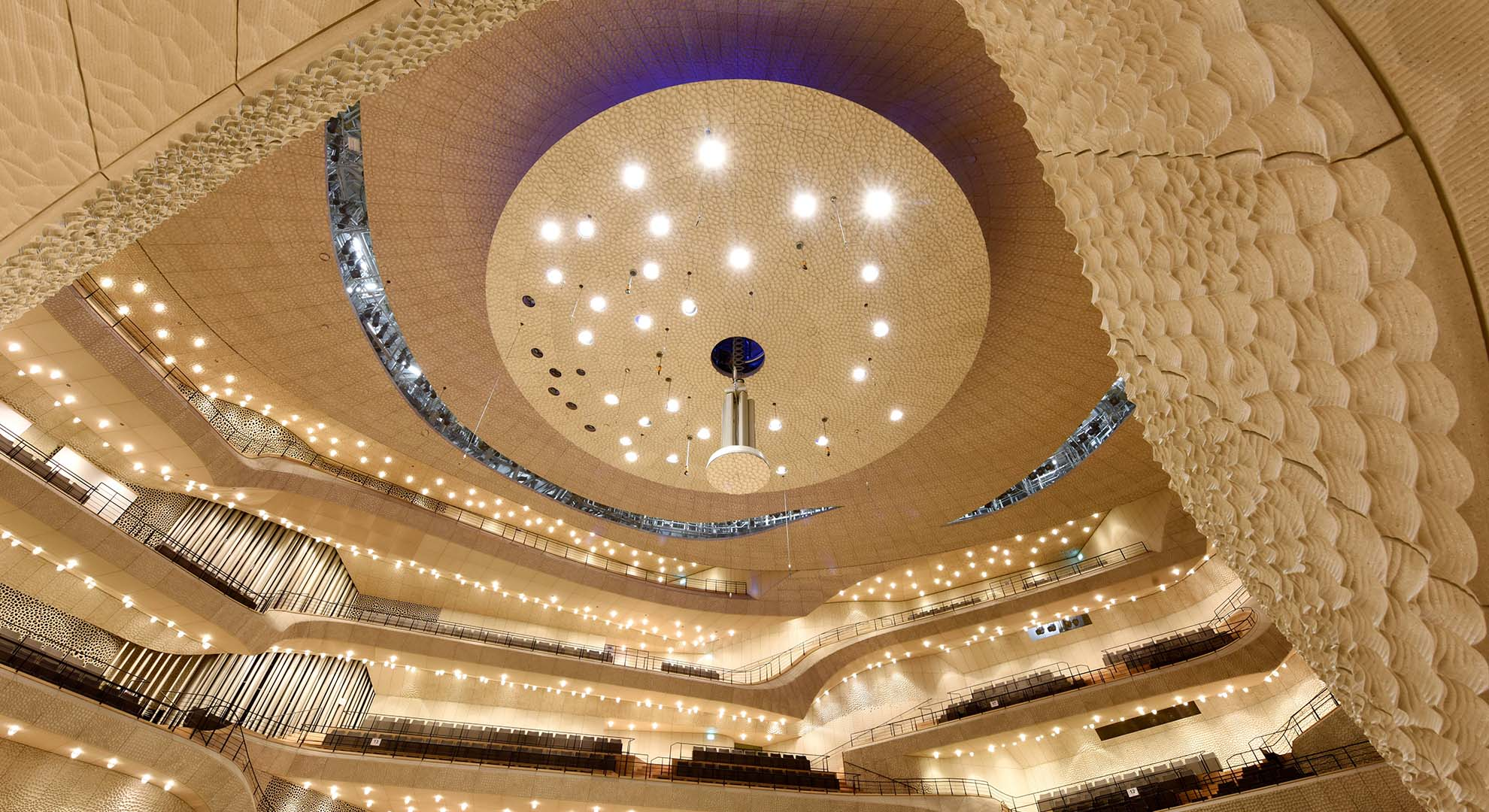 Acoustic panels can be used to get the best acoustics in a chamber music hall or to avoid traffic and urban noise.