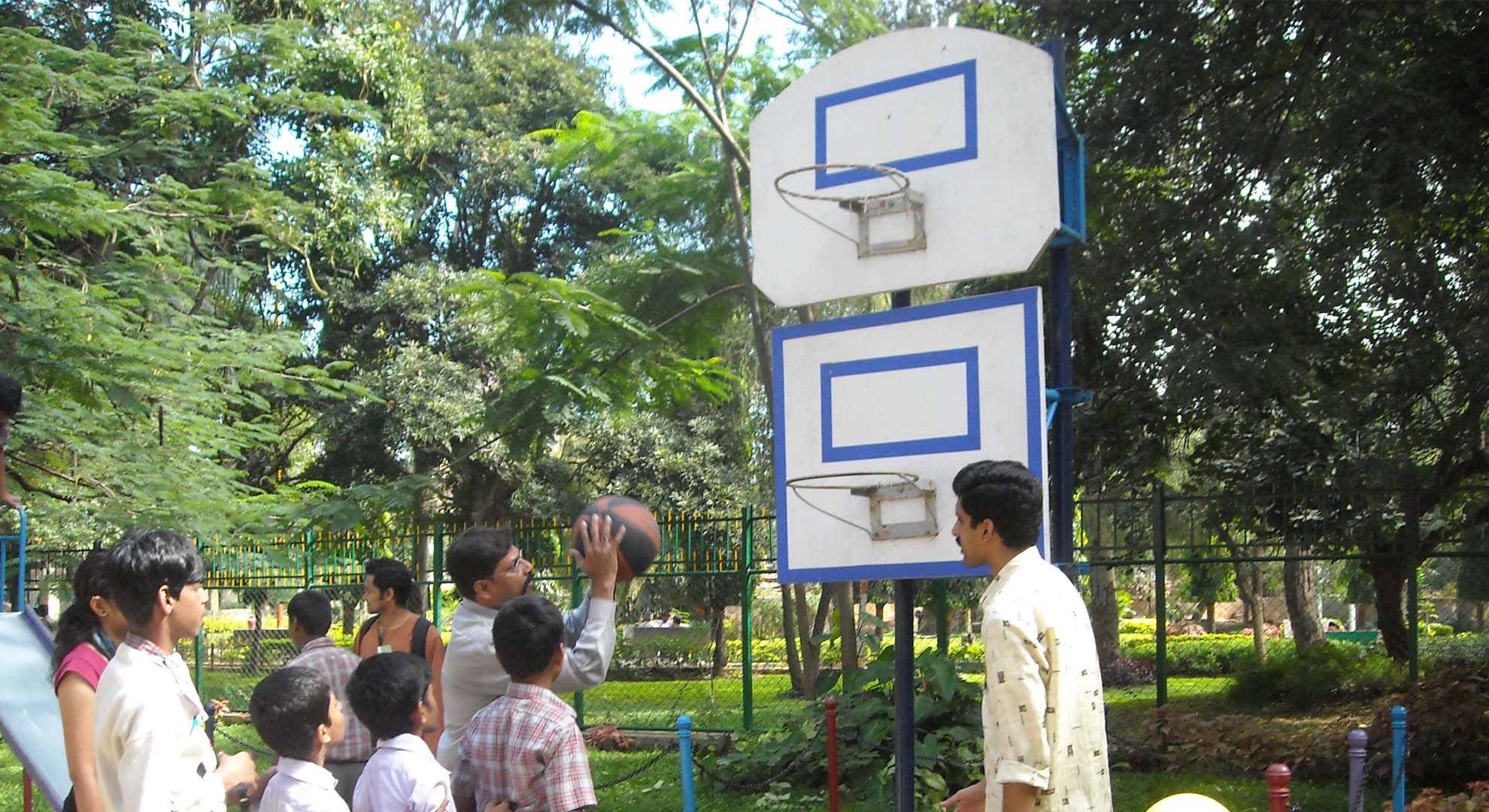 Inclusive public play spaces for children with disabilities in Indian cities.