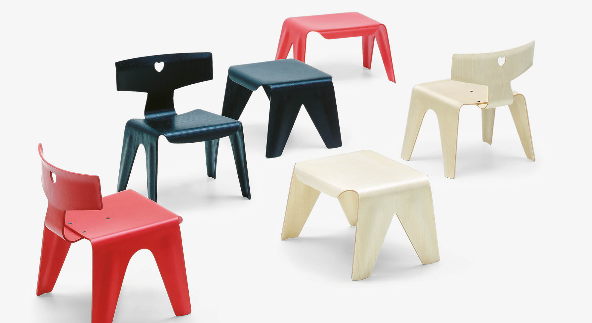 Design for children: a child's chair, by Charles and Ray Eames