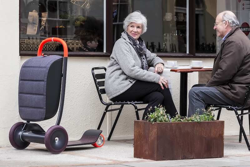 """An age neutral scooter called """"Scooter for Life,"""" designed by Paul Priestman."""