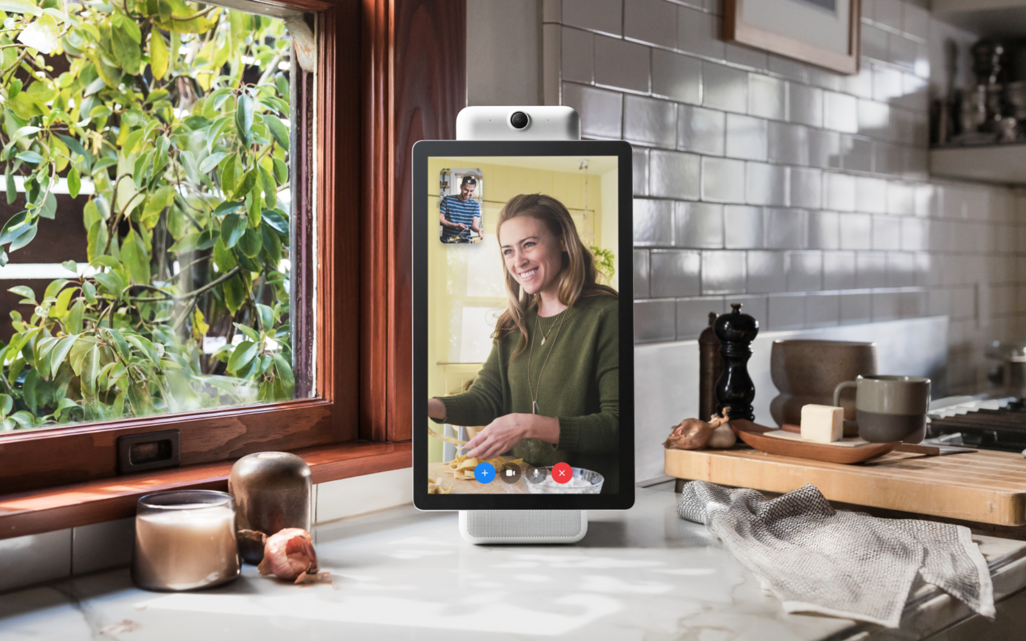 The Facebook Portal TV is a technology that enables the ageing population to stay in touch