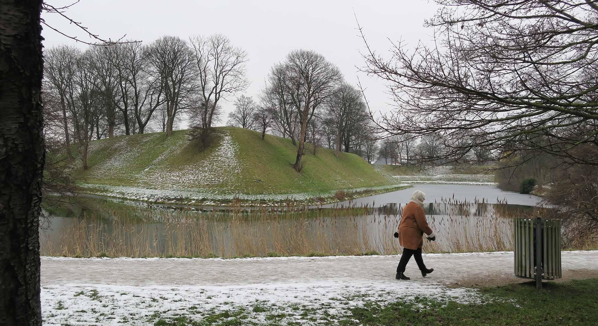 Kastellet, Copenhague, ejemplo de ciudad costera protegida contra el cambio climático.