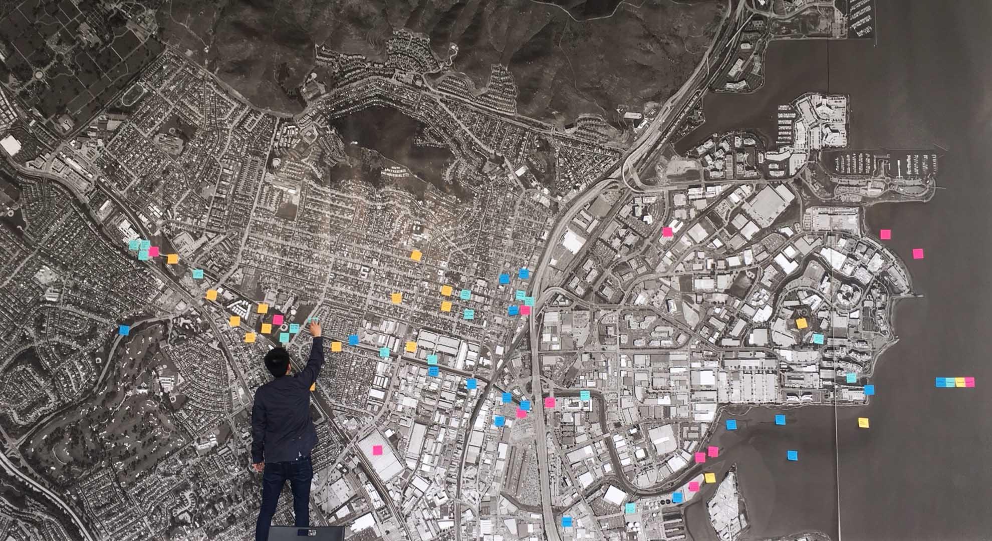 Los vecinos de las zonas residenciales de San Francisco aportaron ideas sobre el diseño de South City.