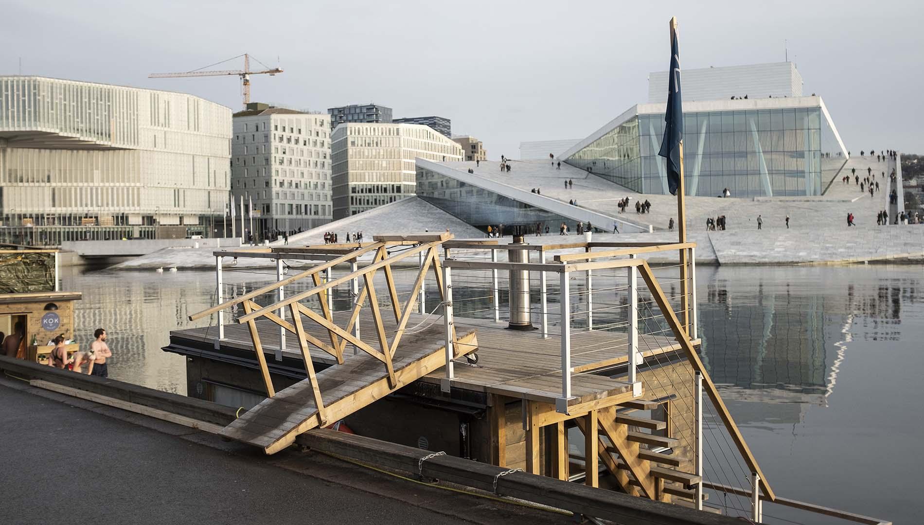 Sauna en Oslo.