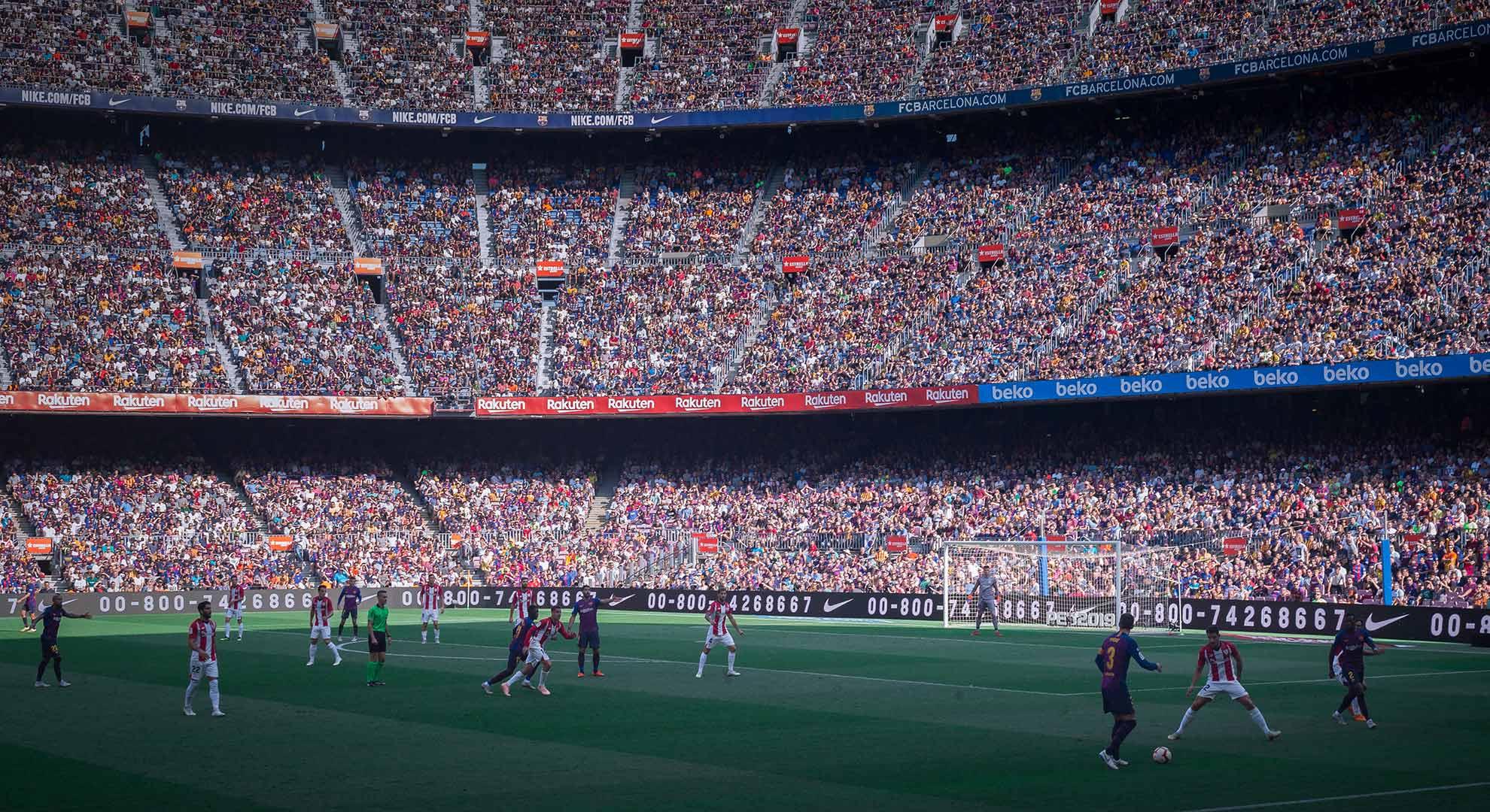 Camp Nou Stadium, Barcelona