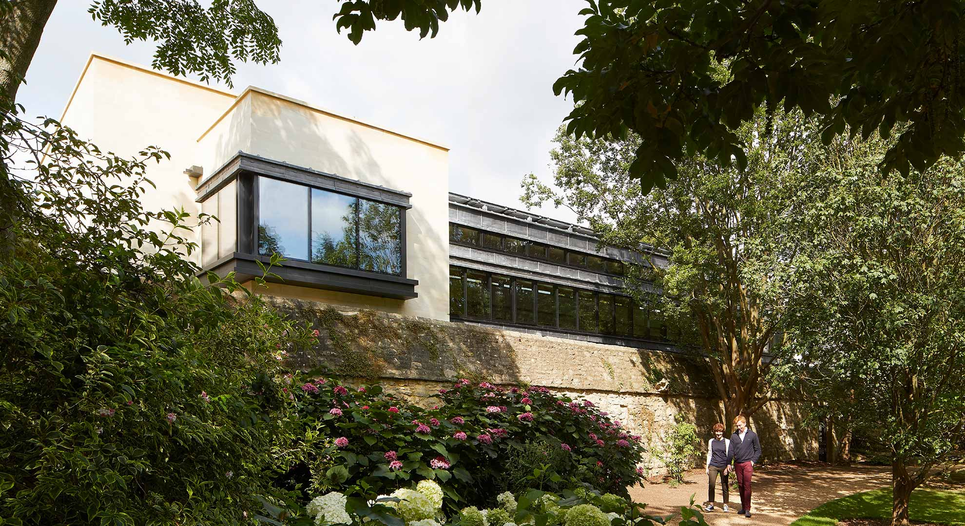 xterior view of St John's College, Oxford University, by Wright & Wright Architects