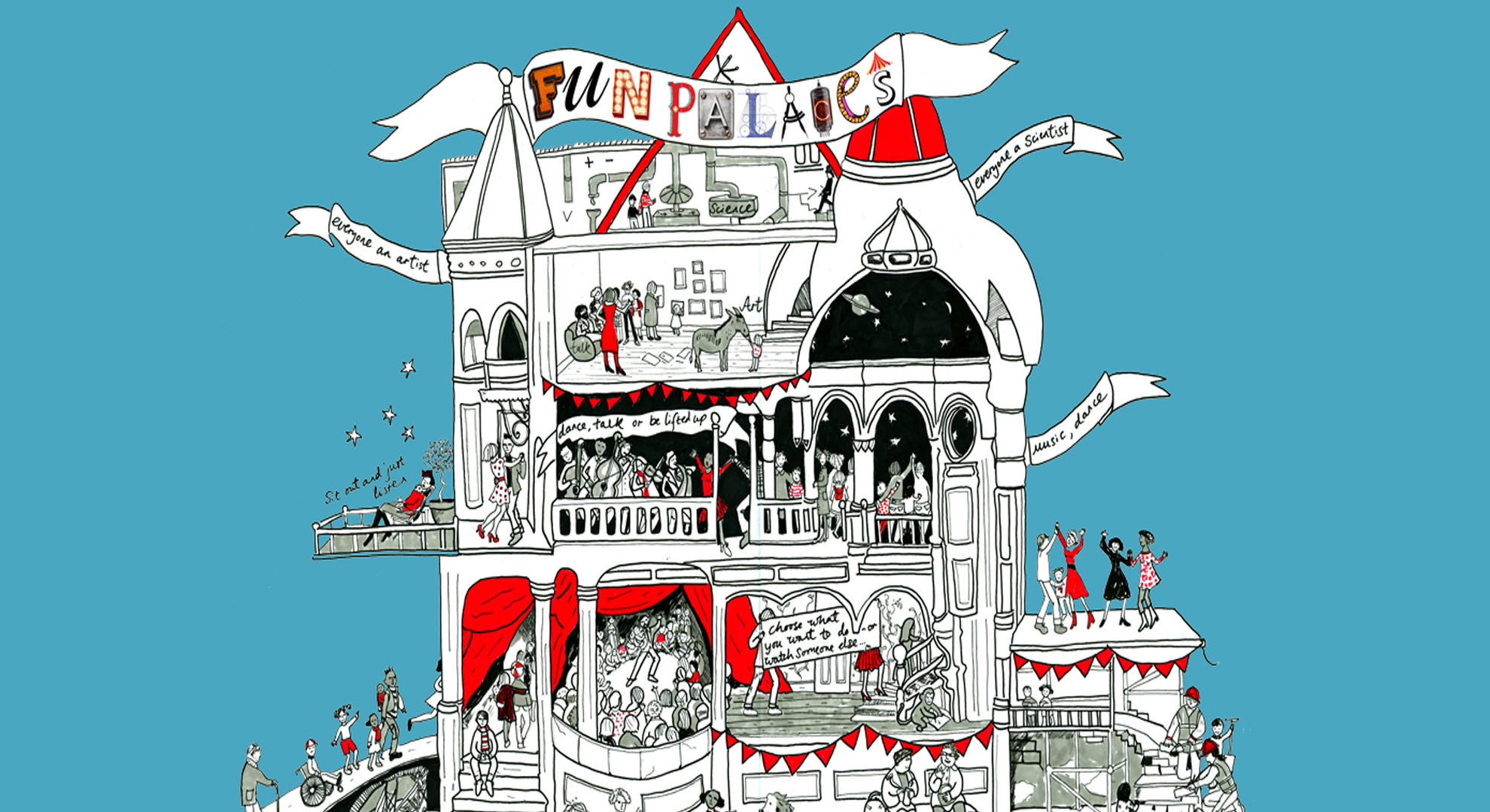Fun Palaces, a project to promote shared creativity