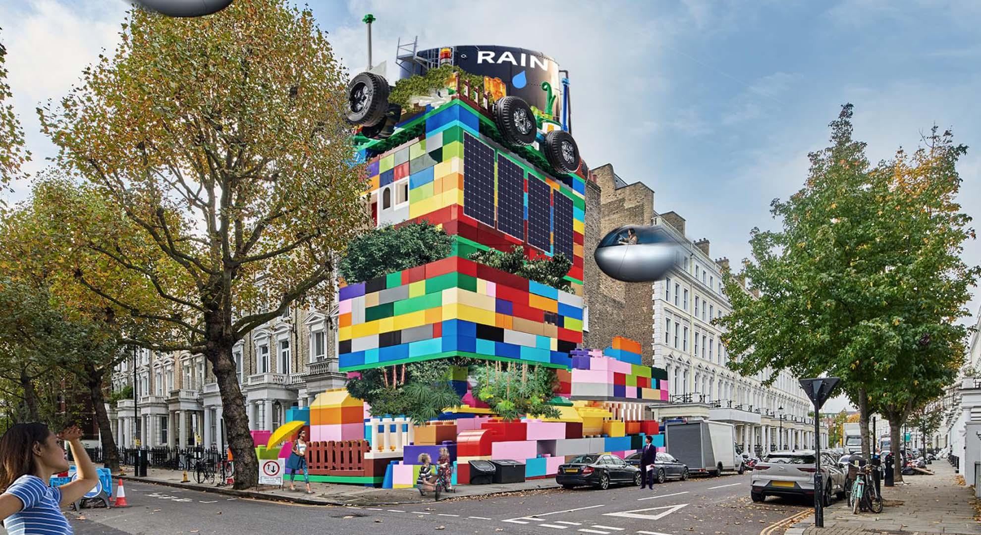 Proyecto: Lego rediseña el mundo con los niños