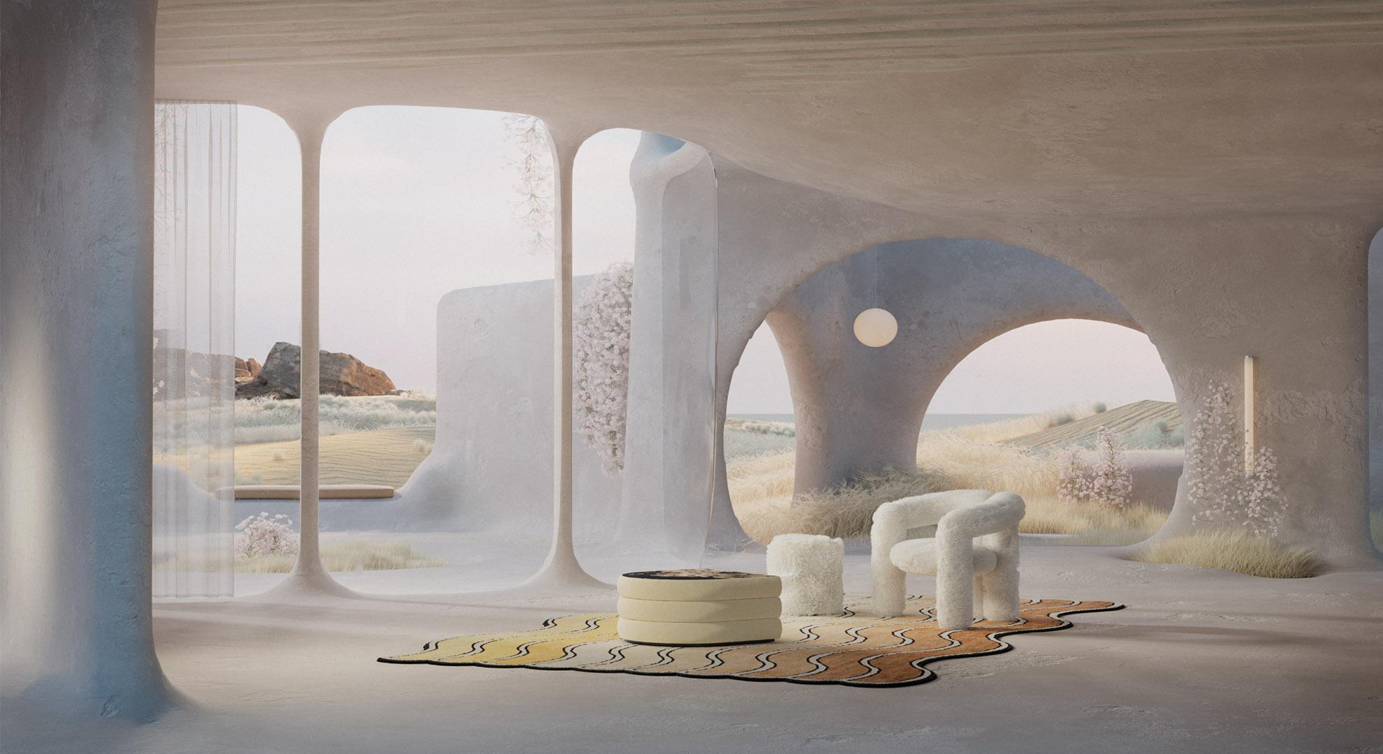 Sun cave. Interior design by Reisinger Studio