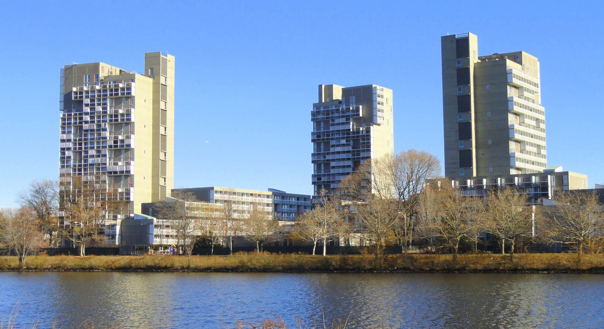 Collective housing in Cambridge, Massachusetts.