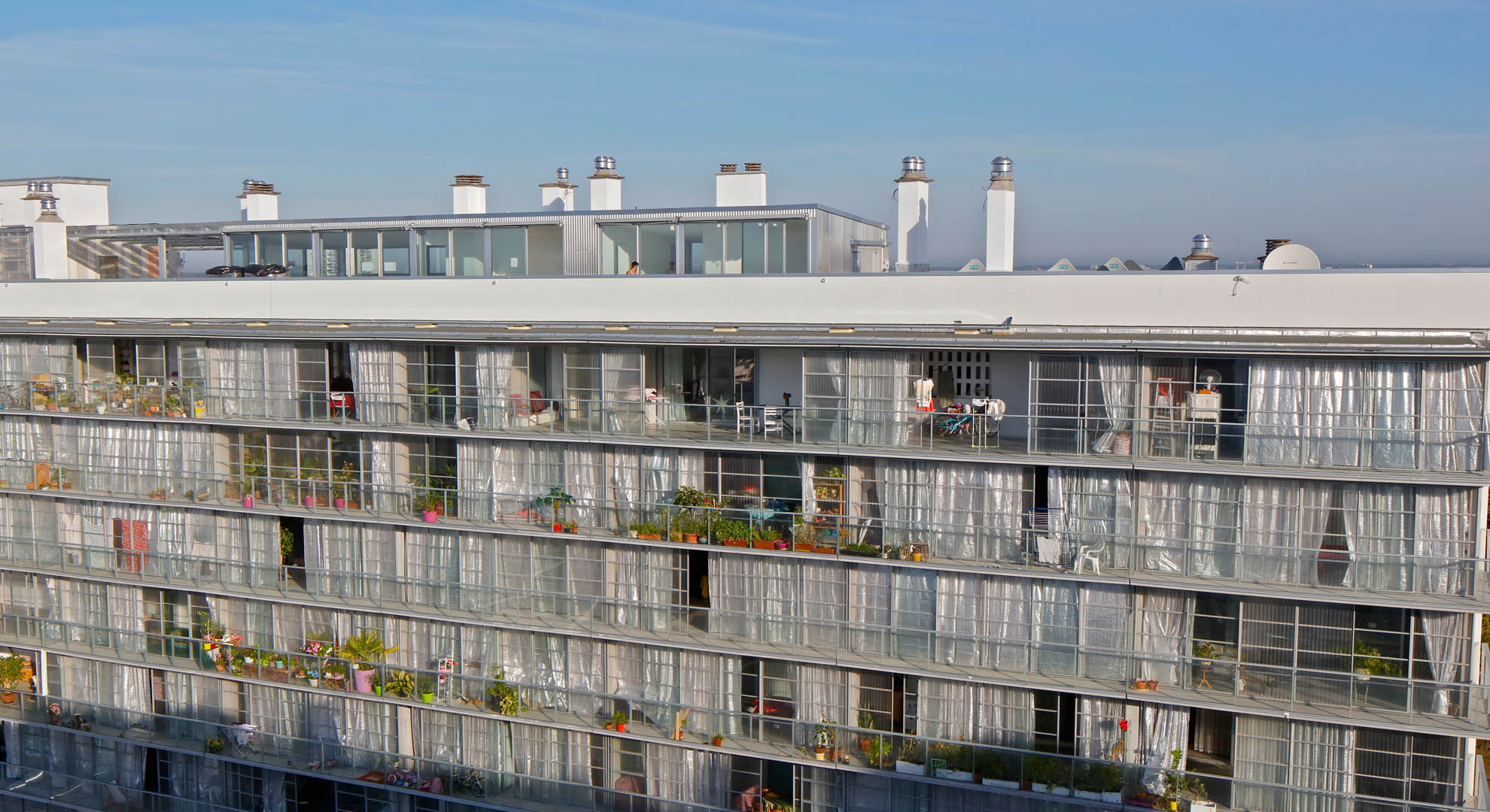 Transformation of 530 houses in Bordeaux, France.