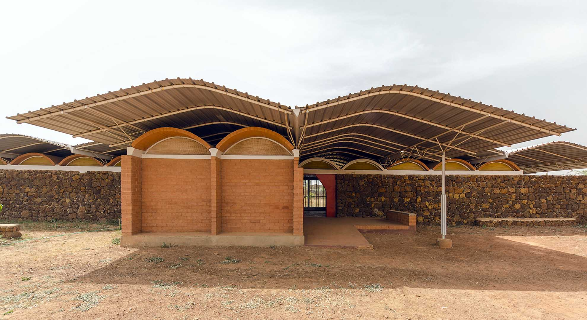 A home for children in Burkina Faso.