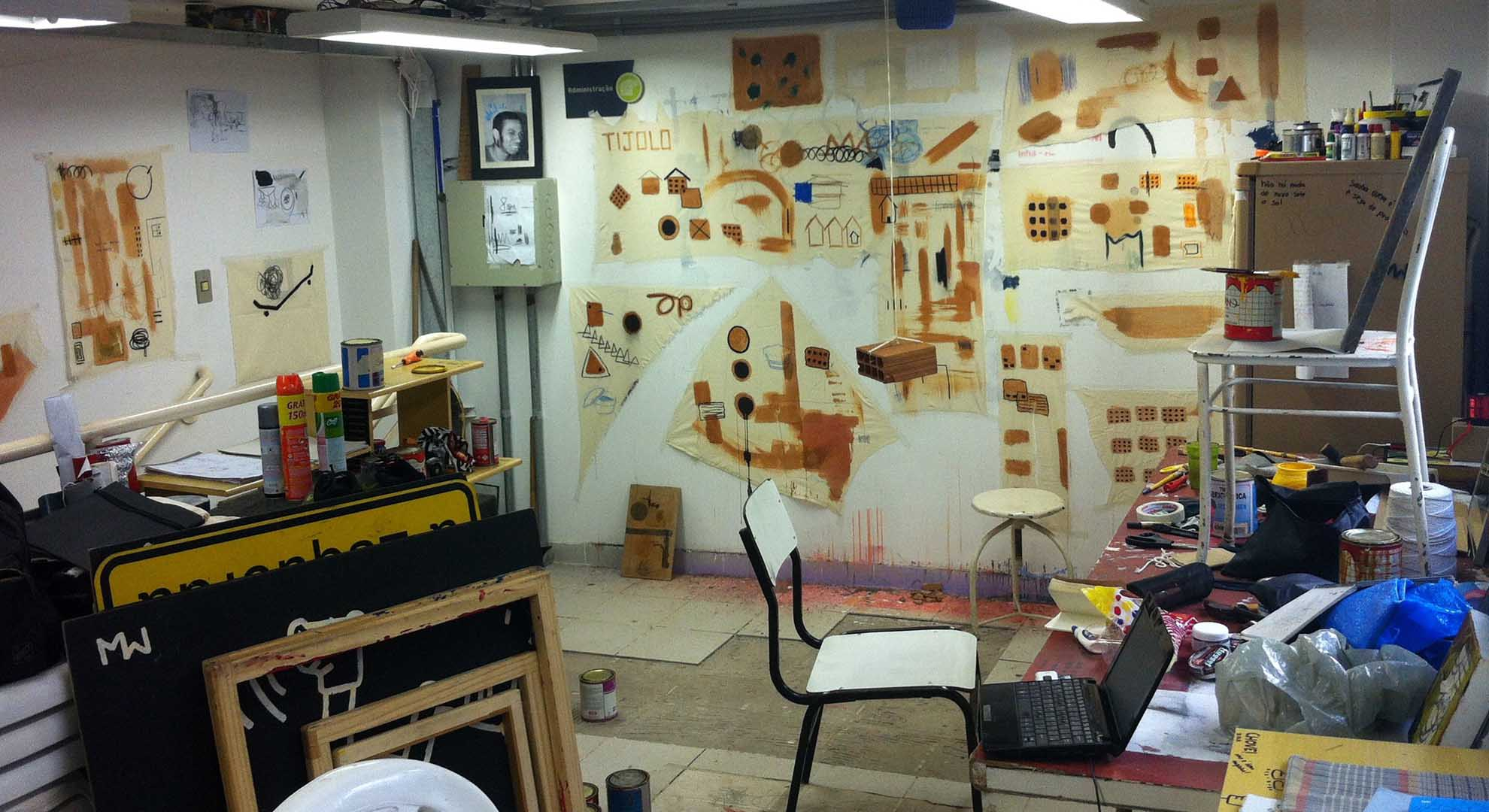 Maxwell Alexandre's Studio