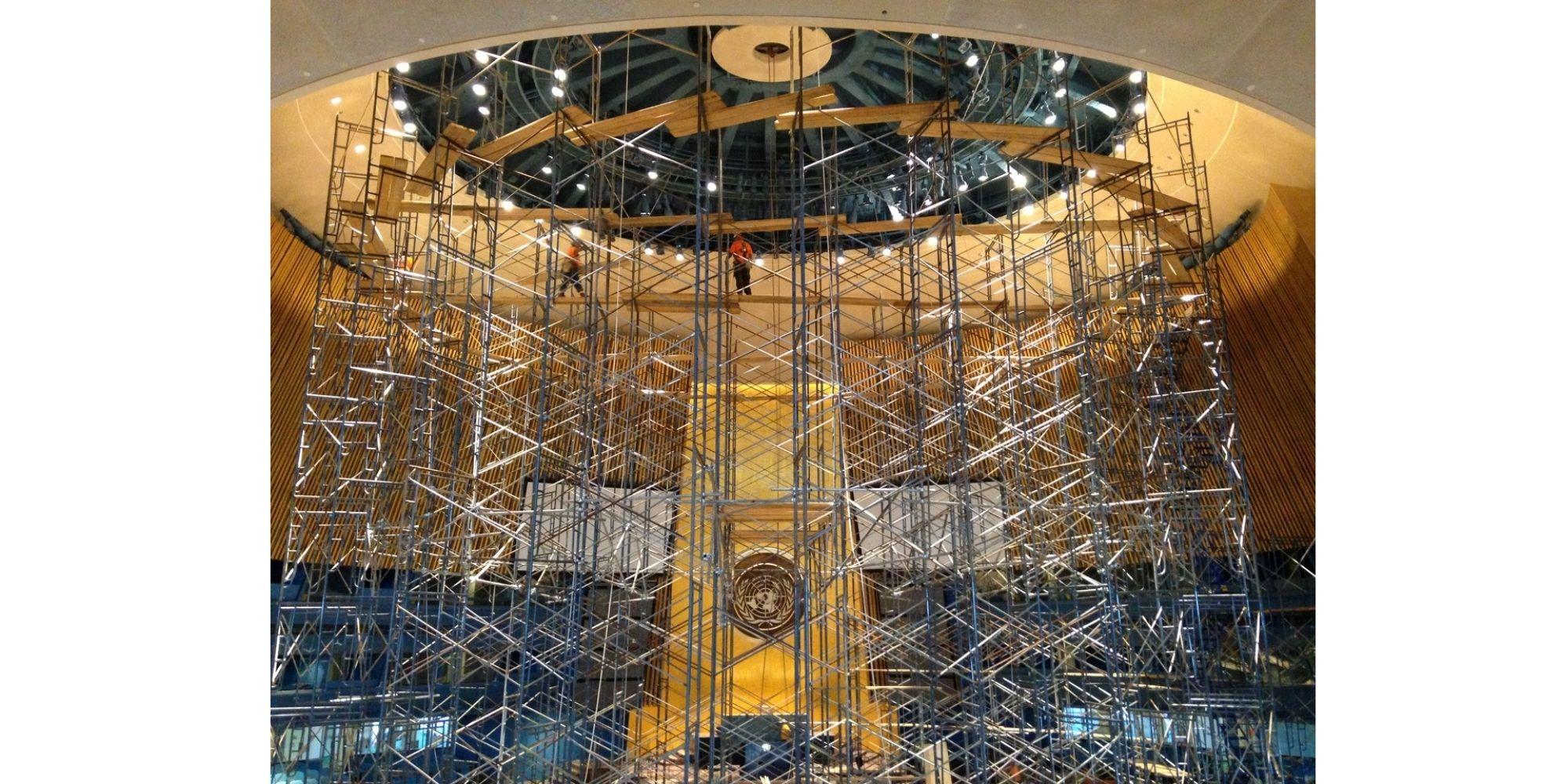 UN Headquarters renovation.