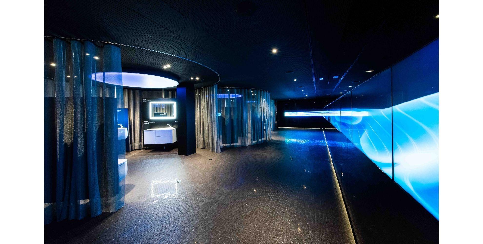 Sala de eventos del Roca Madrid Gallery