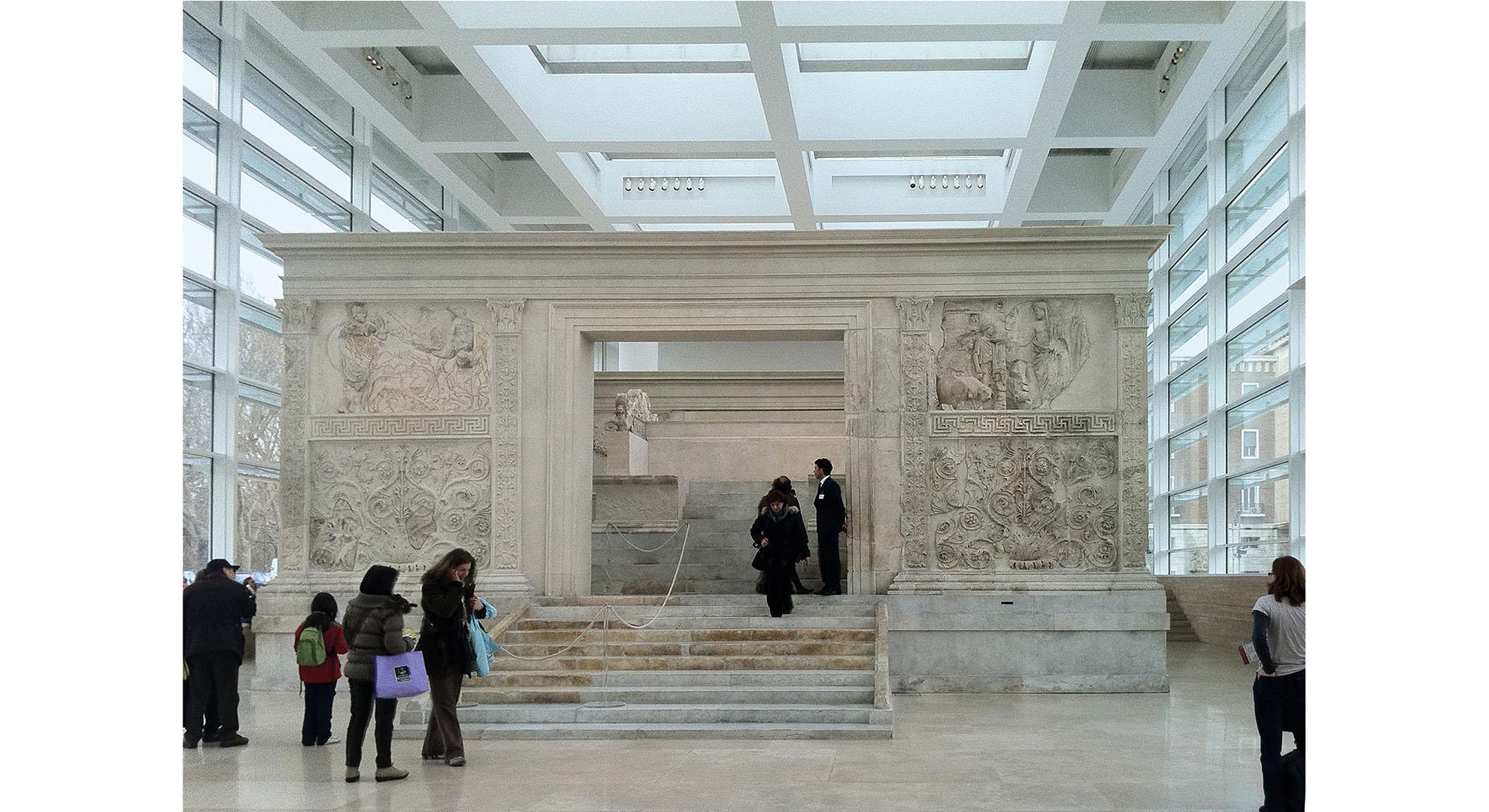 Ara Pacis Museum, Rome.